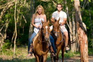 Катание на лошадях на свидании