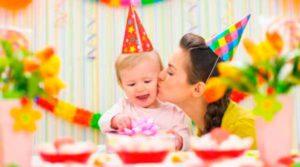 как отметить день рождения ребенка 1 год