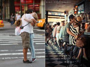 Романтическая прогулка по городу
